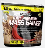 Integratori gainer muscletech