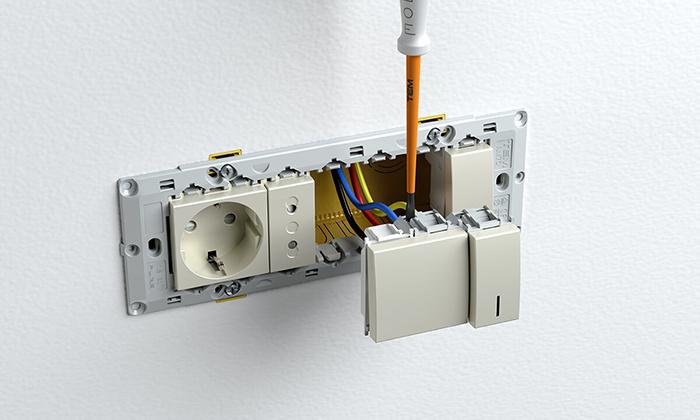 Interruttore luce LED regolabile