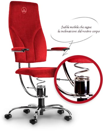 sedia computer ergonomica SpinaliS