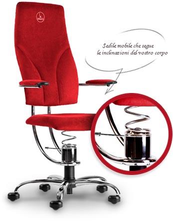 Sedia ergonomica prezzo più basso SpinaliS