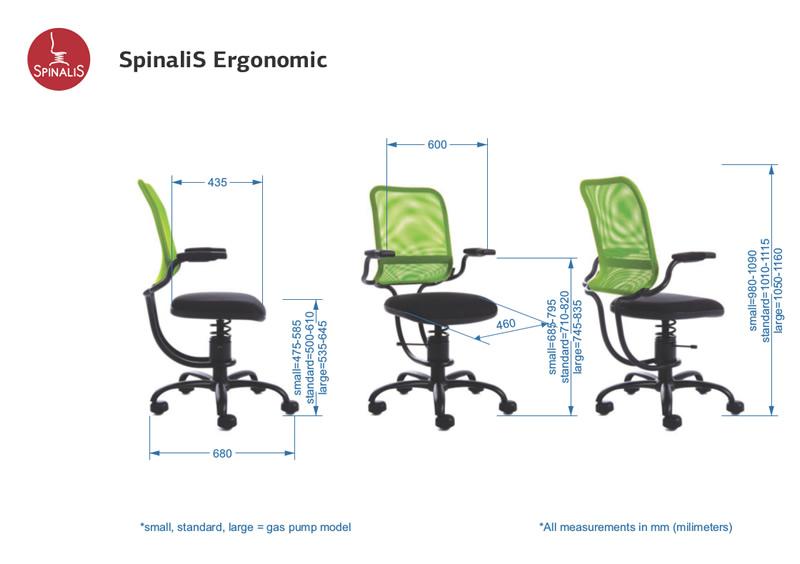 Sedia ufficio con supporto lombare – 8 ore di benessere